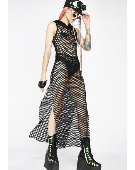Empress Furiosa Fishnet Dress