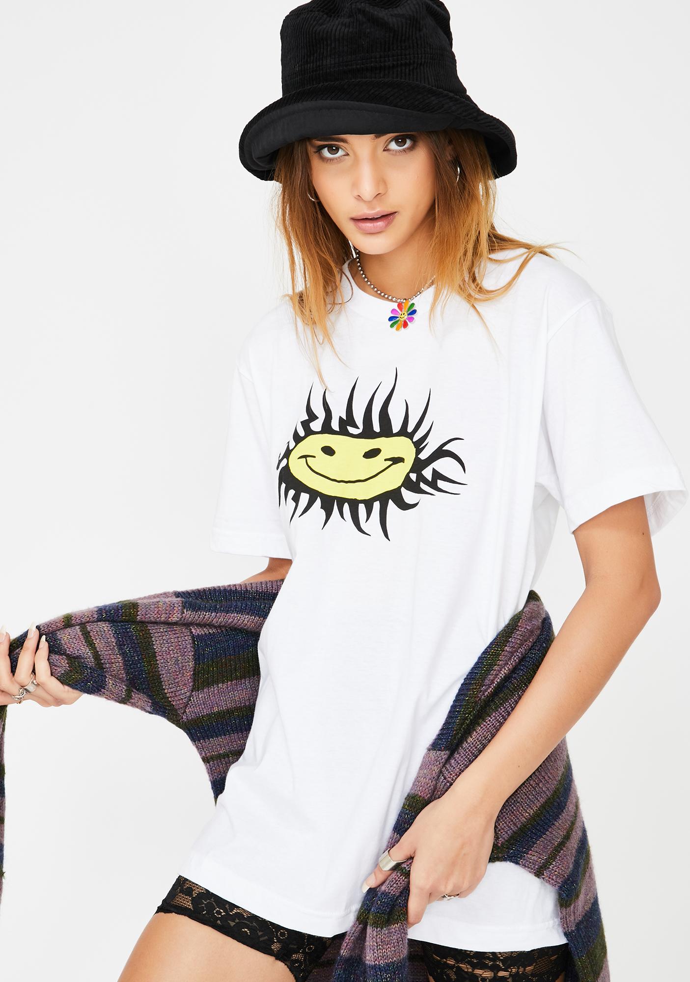 The Cobra Snake Sun Smiley Graphic Tee