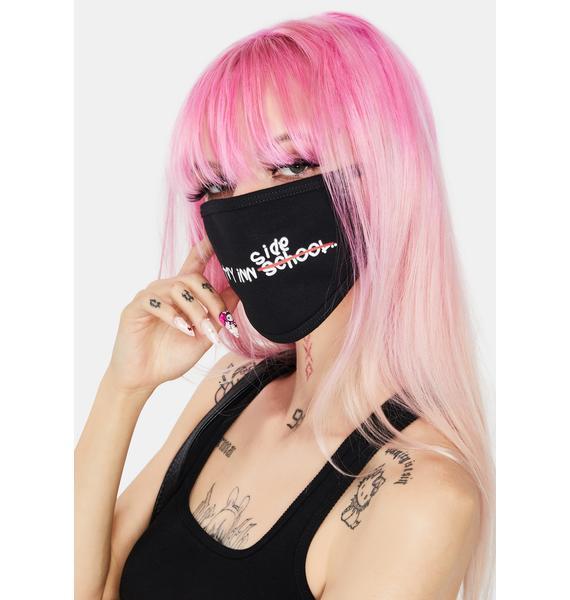 Hall Pass By B2SS Black Stay Inn Face Mask