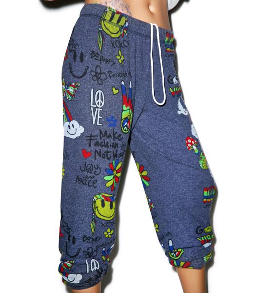 Lauren Moshi Tanzy Good Vibes Sweats