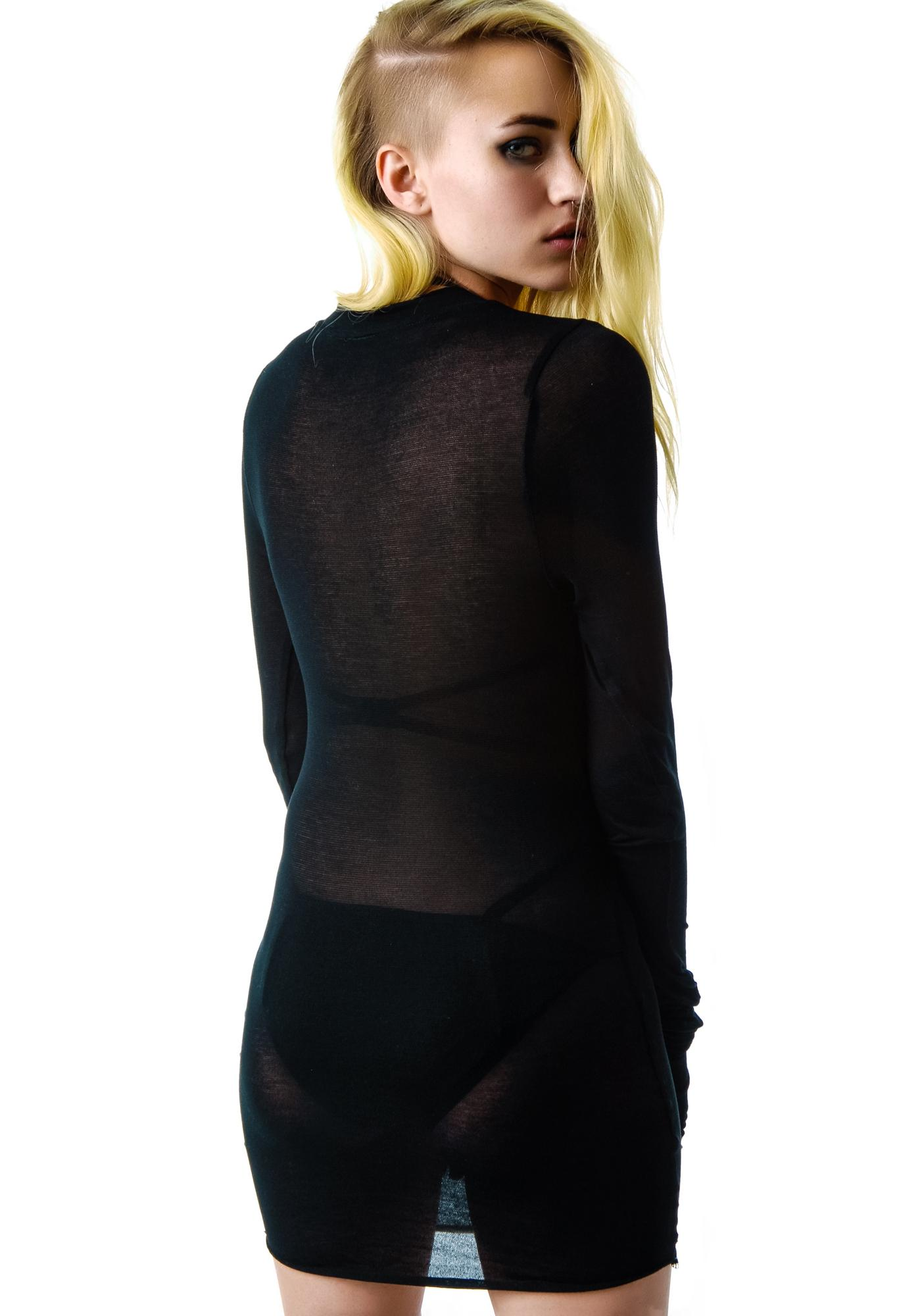 Widow Shadow Knit Sweater