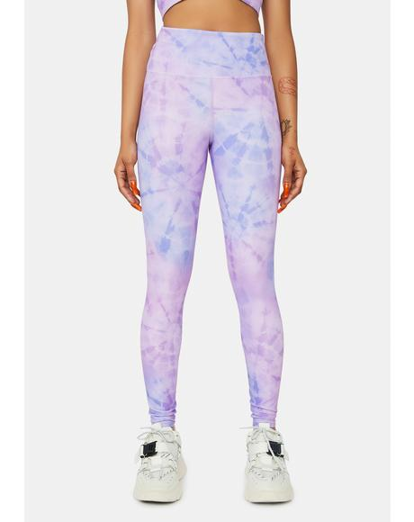 Crystal Tie Dye Ayla Leggings