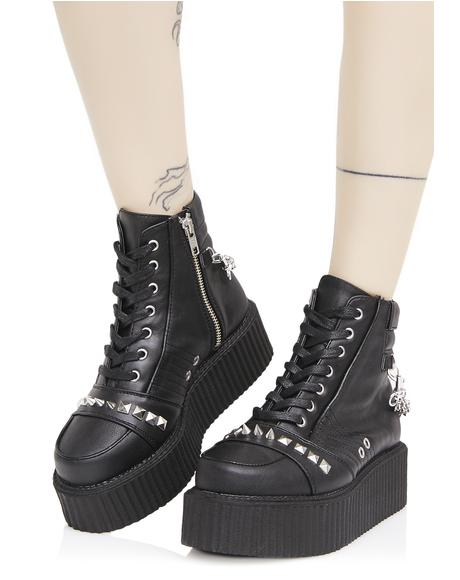 Whiplash Studded Creepers