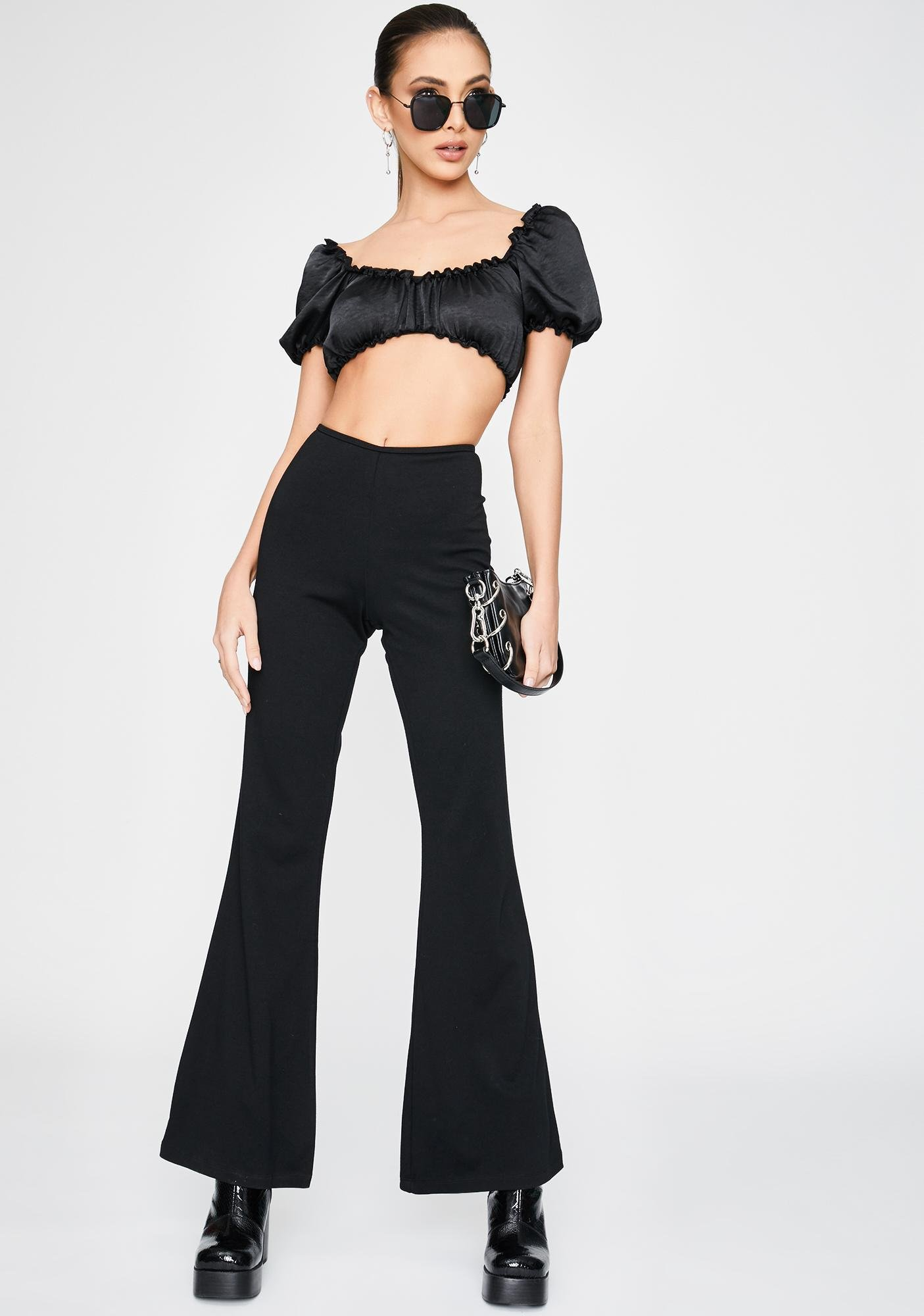 Motel Hearty Flare Trousers