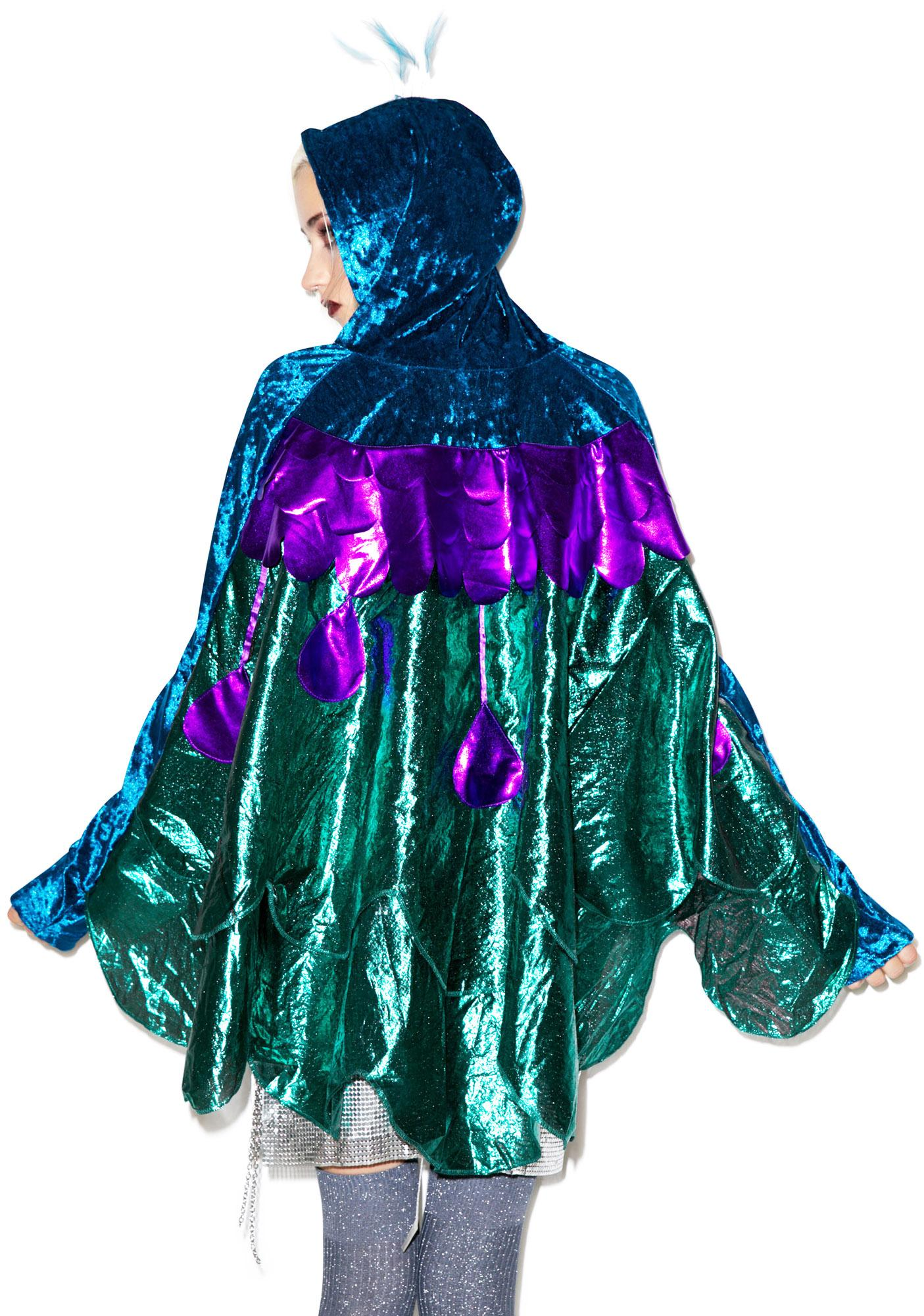 Lip Service Peacock Rock Costume
