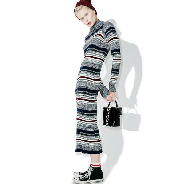 Obey Hanna Knit Dress