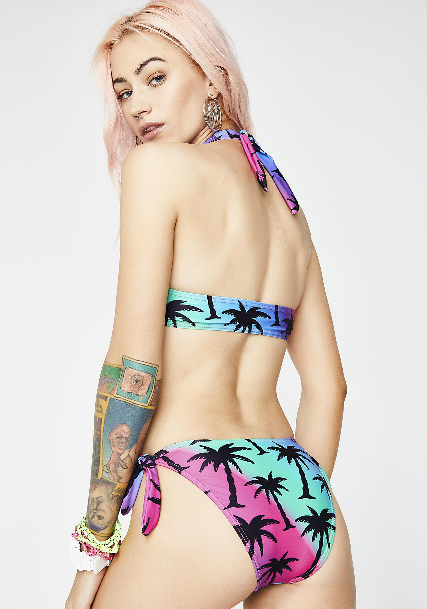 Current Mood Coastal Cruisin' Bikini Set
