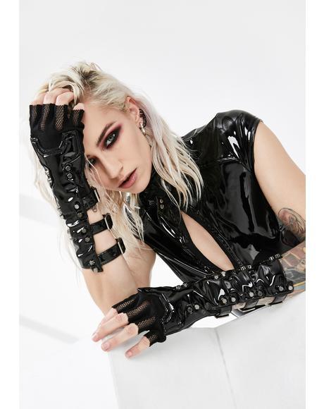 Futuristic Punk Gloves