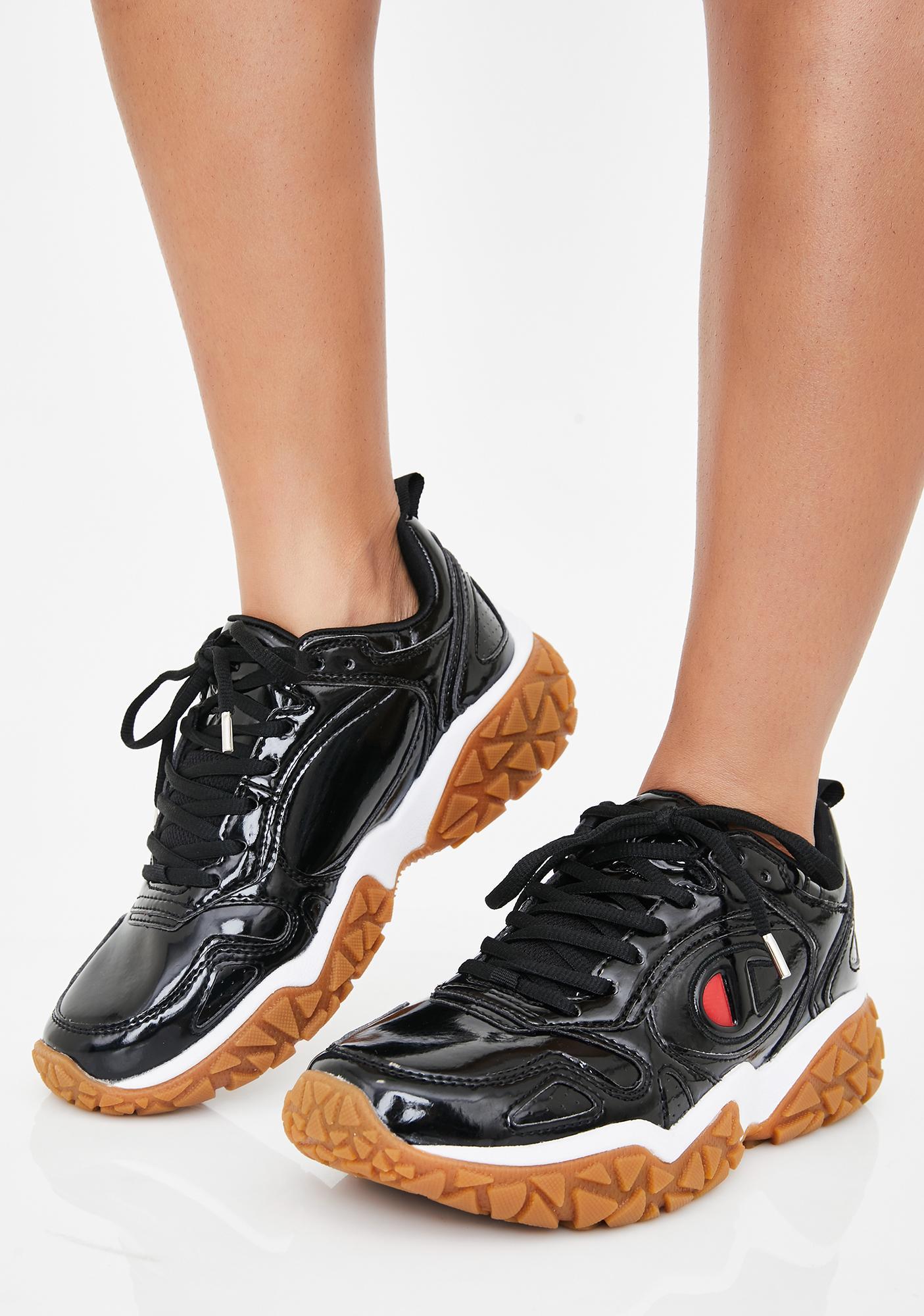Black Tank Tender Sneakers