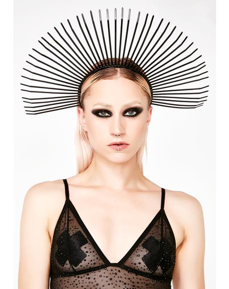 Metropolis Halo Crown Headpiece