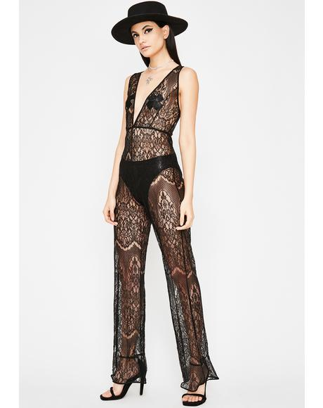 Dark Desire Lace Jumpsuit