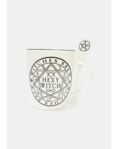 Hexy Witch Mug