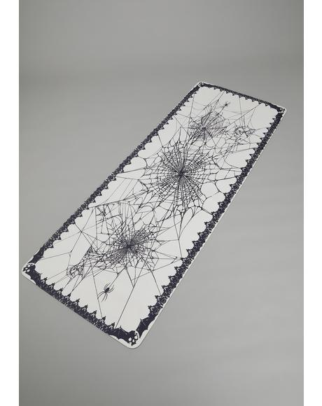 Web Of Secrets Yoga Mat