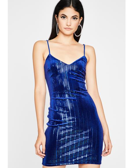 Liquid Beats Sequin Dress