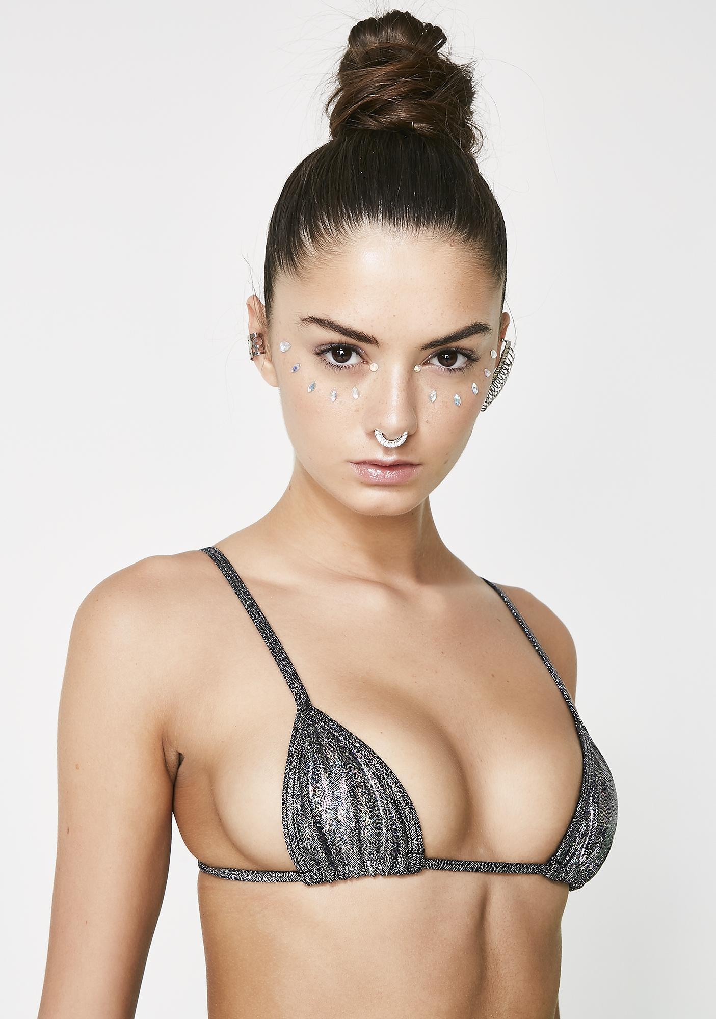 Sparkle Sparkle Bish Bikini Top