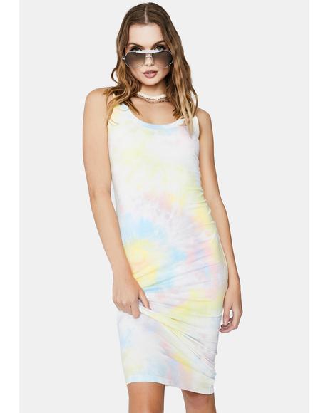 Molly Tie Dye Maxi Dress
