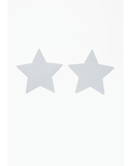 Reflective Star Pasties