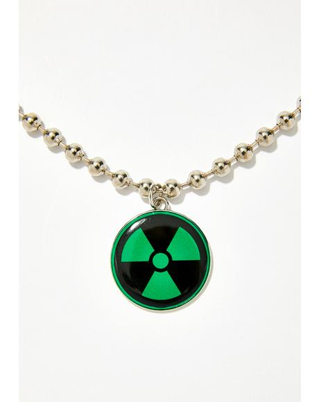 So Toxxxic Ball Chain Necklace