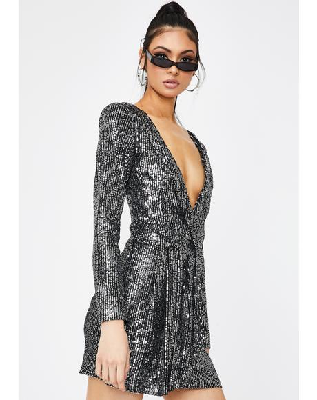 Make Your Move Sequin Dress