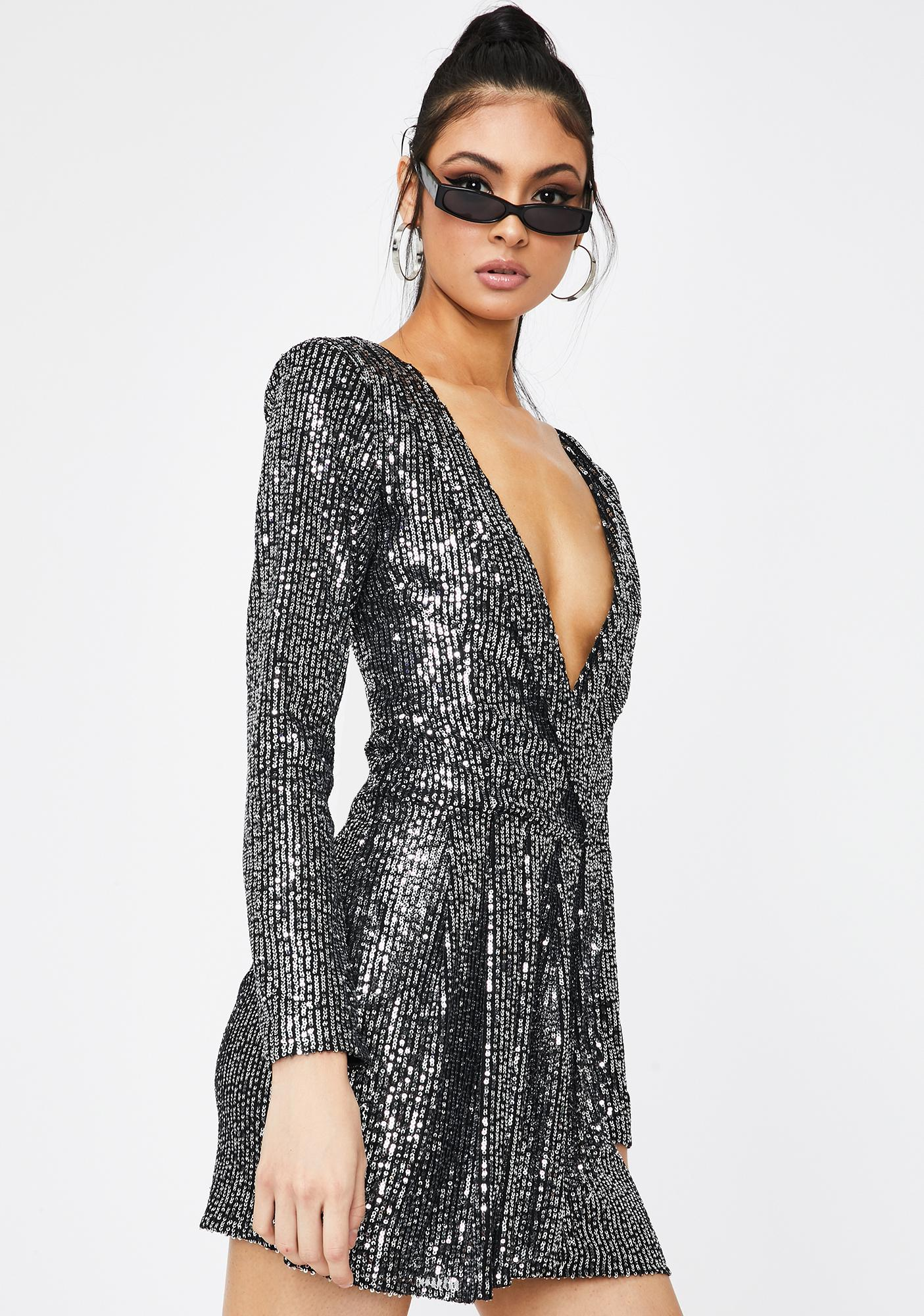 Lioness Make Your Move Sequin Dress