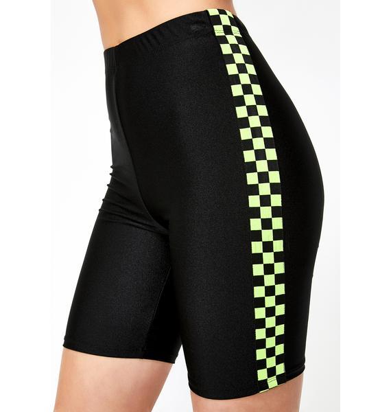 Eliminate Them Biker Shorts