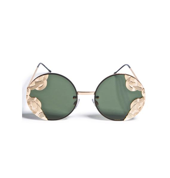 Spitfire Gold British Riviera Sunglasses