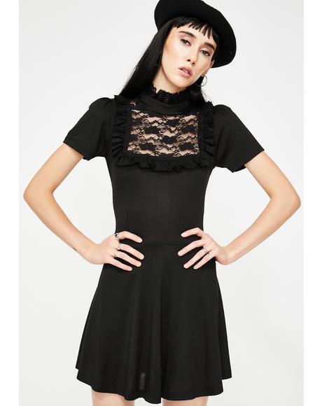 Darkness Babydoll Dress