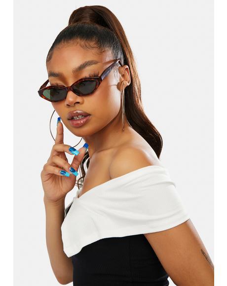 Tortoiseshell Brooke Sunglasses
