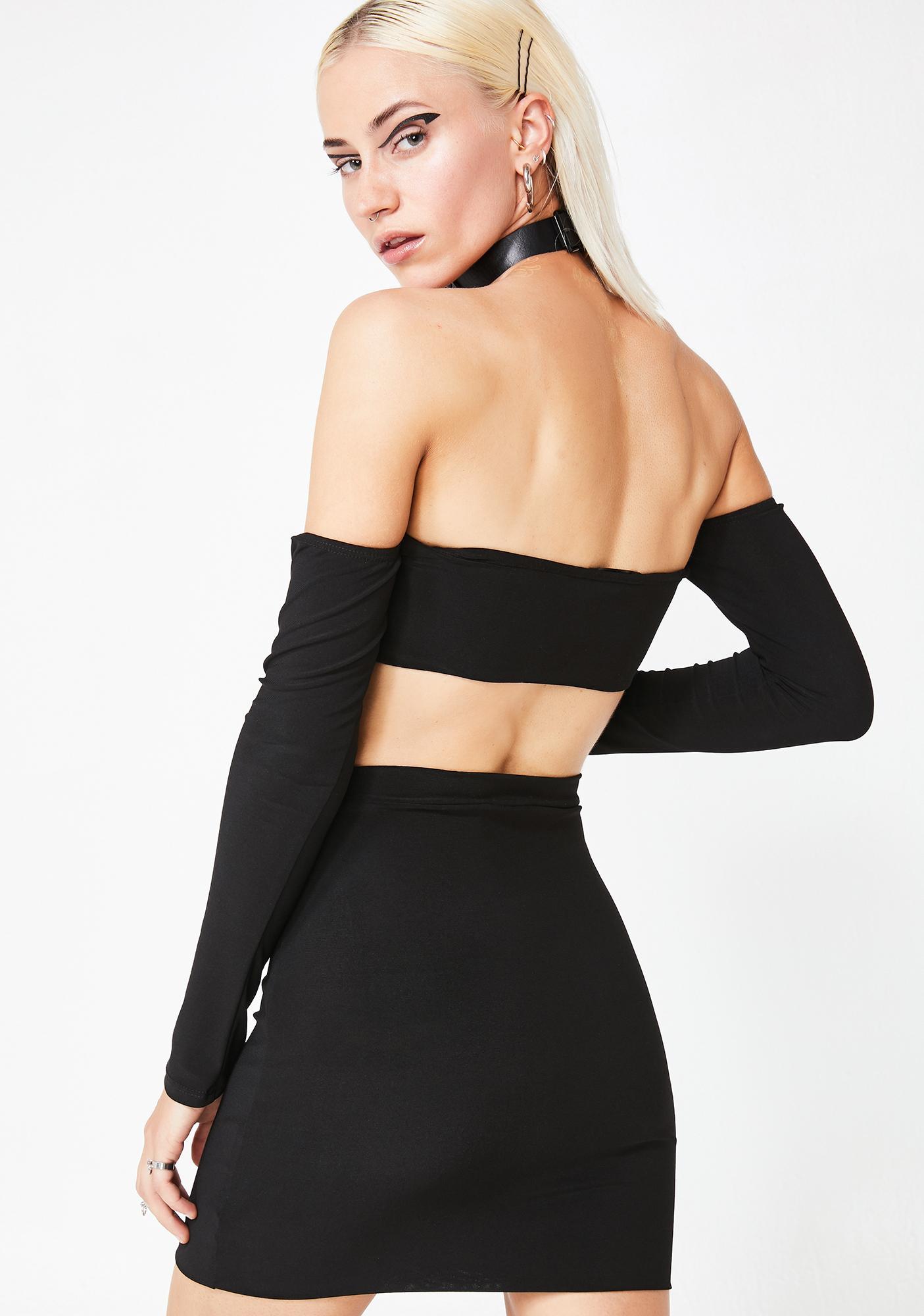 Miss Vixen Cold Shoulder Set