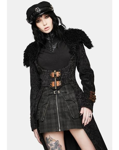 Steampunk Warm Long Coat