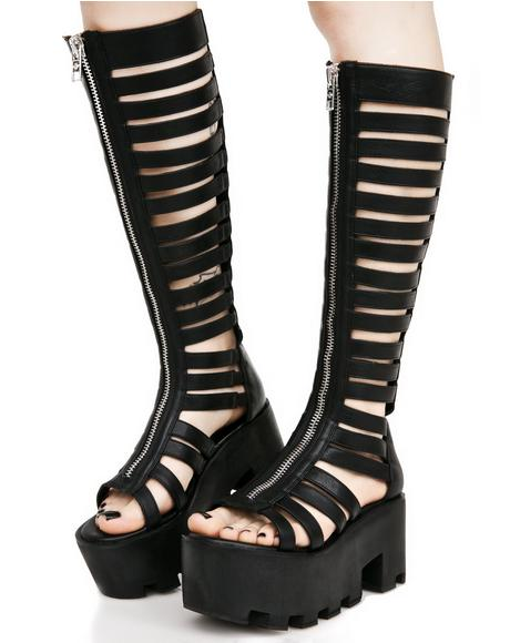 Wicked Warrior Gladiator Platforms