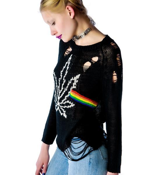 UNIF Weed Floyd Sweater