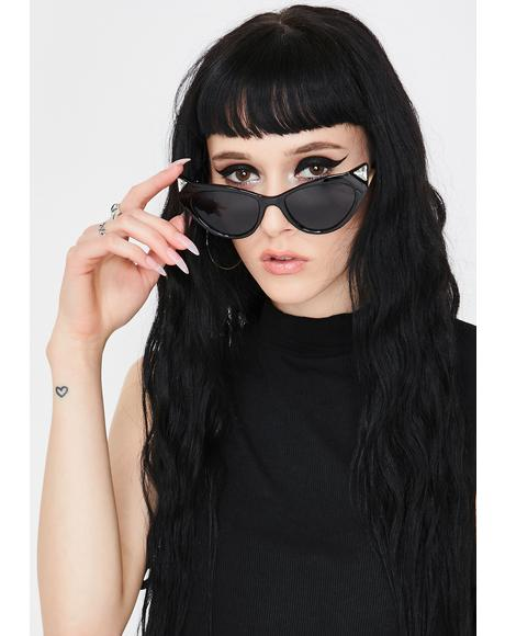 Lunar Basic Baller Cat Eye Sunglasses