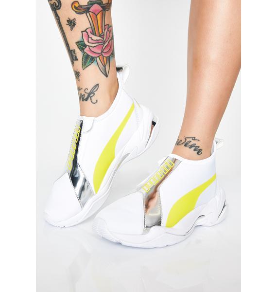 PUMA Thunder Trailblazer Metallic Sneakers
