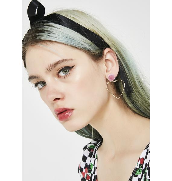 Lovable You Heart Earrings
