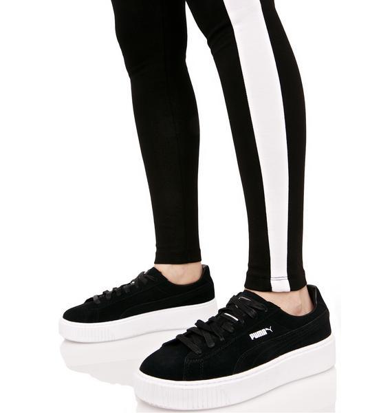 PUMA Suede Platform Sneakers