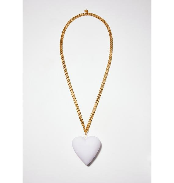 Trixy Starr Big Love LED Heart Necklace