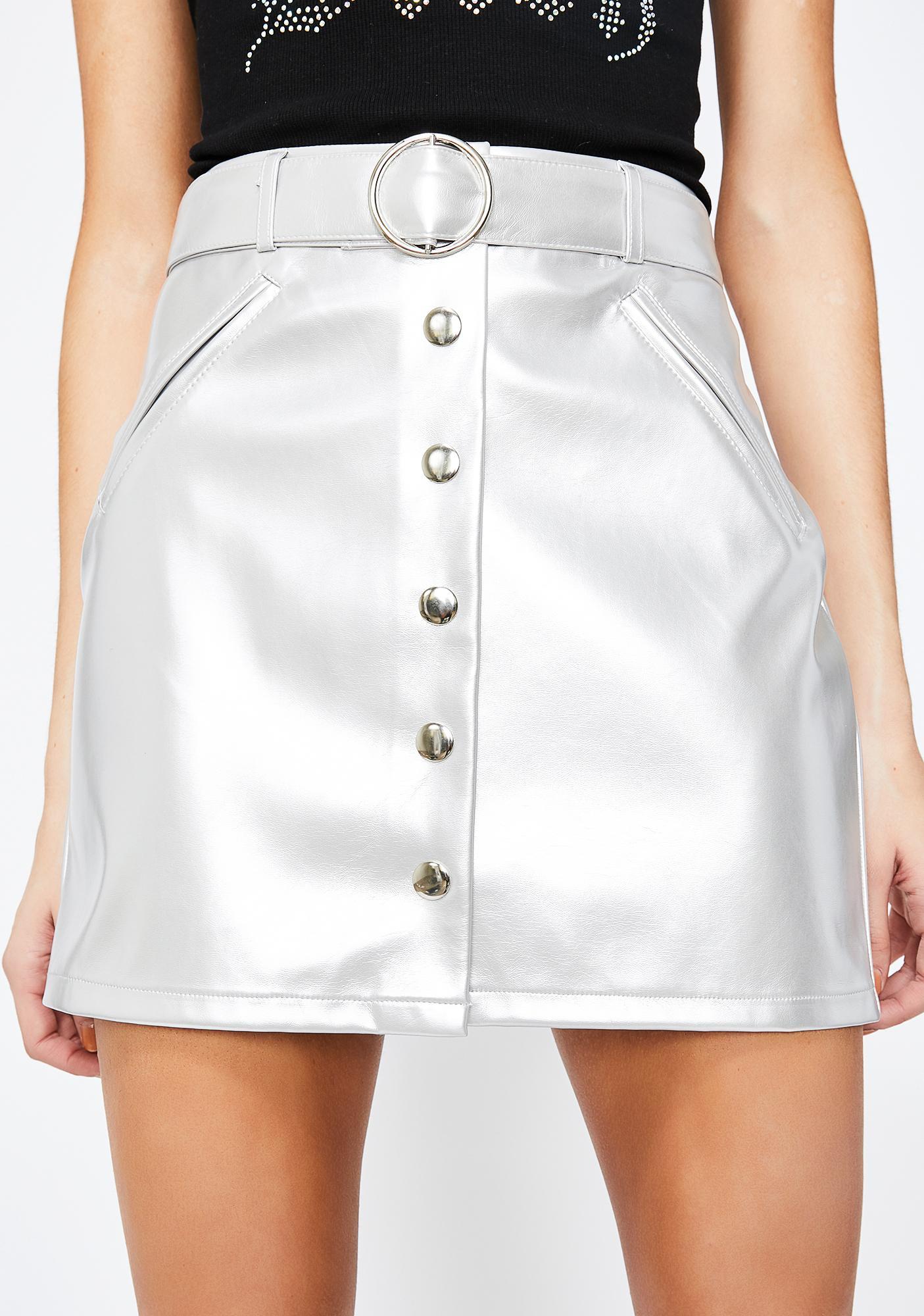 City Nightz Patent Skirt