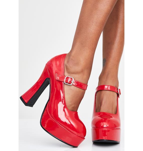 Spicy Vamp Tramp Platform Heels