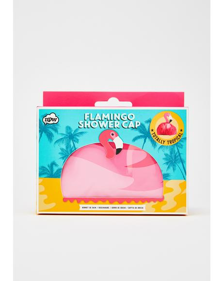 Flaminglow Shower Cap