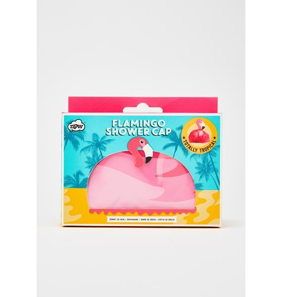 Flaminglow Shower Cap
