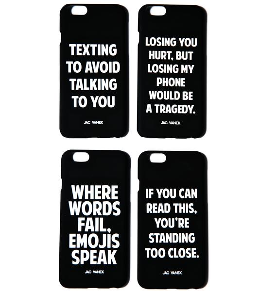 Jac Vanek Texting to Avoid Talking to You iPhone 6 Case