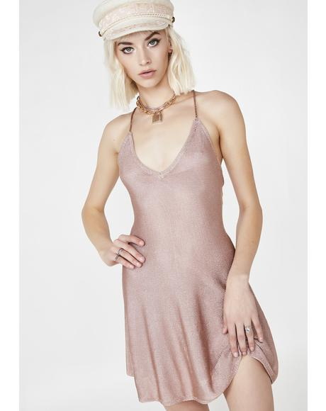Champagne Wishes Mini Dress
