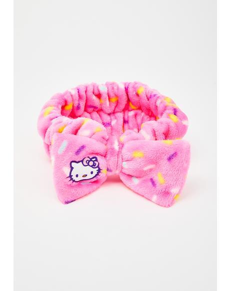 Hello Kitty Spa Headband