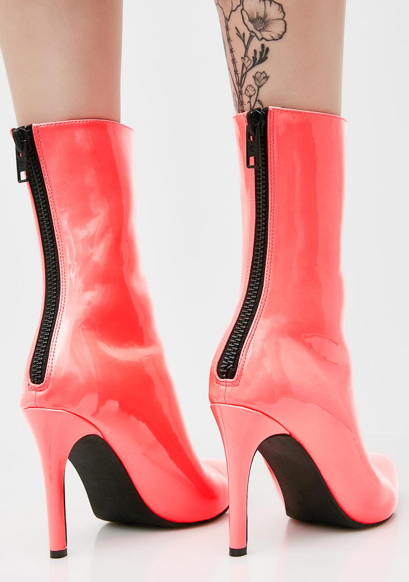 Current Mood Coral Cosima Boots