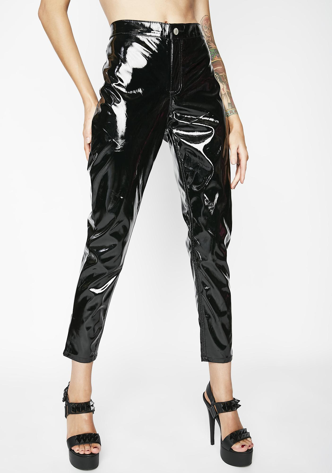Glamorous No Finances Patent Trousers