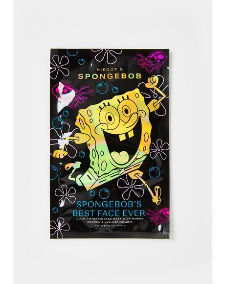 Spongebob Best Face Ever Sheet Mask