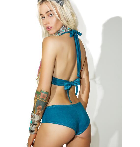 J Valentine Blue Lagoon Shorts