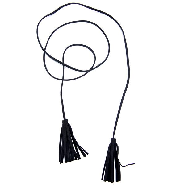 Tassel Me Wrap Necklace