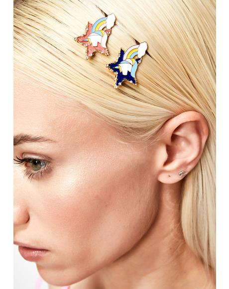 Unicorn Magic Hair Pins